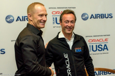 Spithill e Airbus - America's Cup