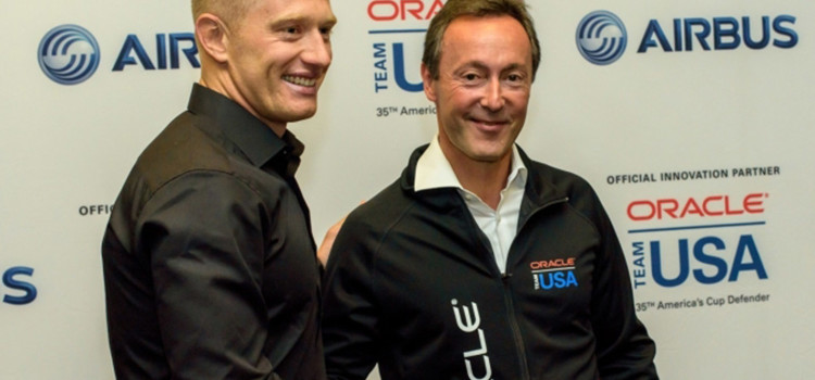 America's Cup, Oracle Team USA and Airbus will work together
