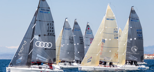 Audi tron Sailing Series, i Melges 24 chiuderanno a Luino