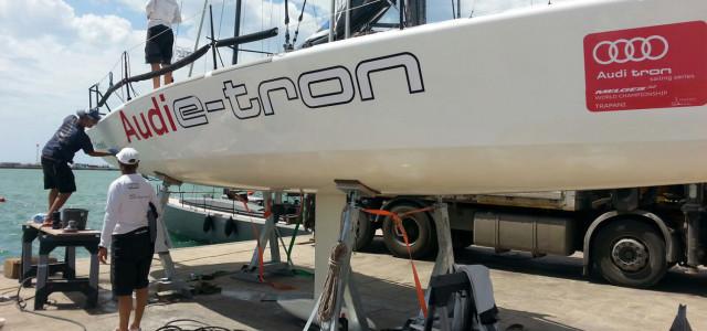 Audi tron Sailing Series, Audi e-tron F.Lli Giacomel nuovamente pronto a regatare