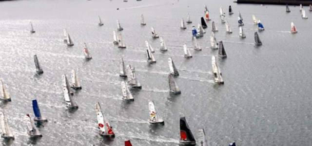 Mini Transat, and they are off