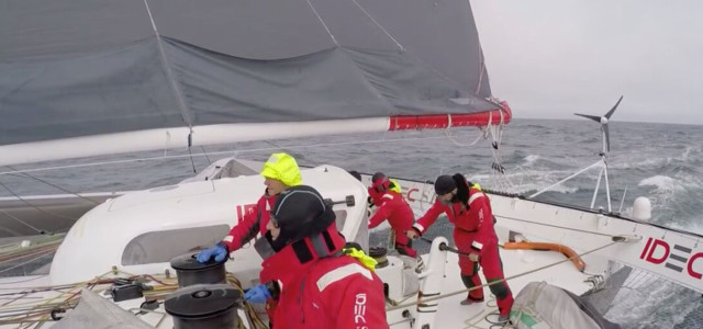 Jules Verne Trophy, IDEC on the Horn tomorrow