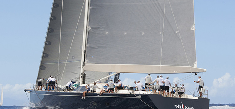 Superyacht Challenge Antigua, superb conditions on the island