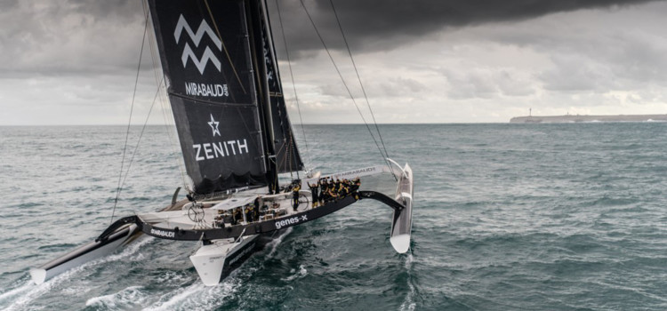 Jules Verne Trophy, Spindrift 2 beats IDEC Sport, but not the record