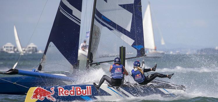 Red Bull Foiling Generation, accadde in Nuova Zelanda