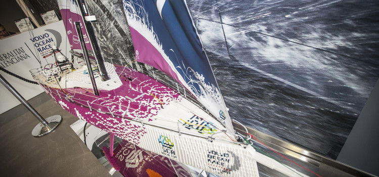 Volvo Ocean Race, Team SCA made by… Lego