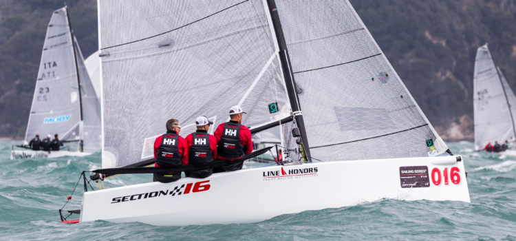 Sailing Series Melges 20, Section 16 rider of the storm