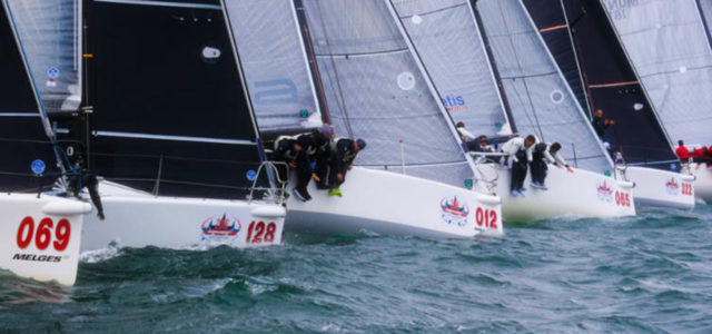 Melges 32 World Championship, a wet departure from Norm
