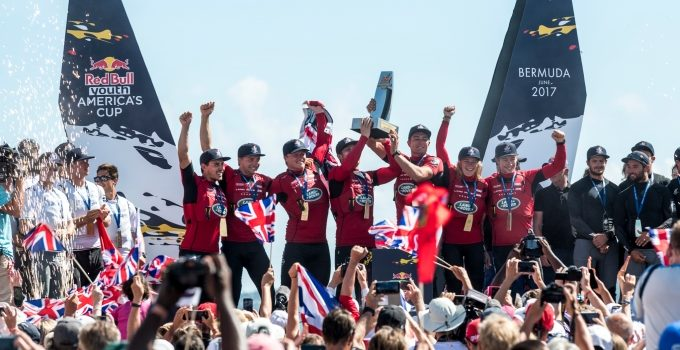 Red Bull Youth America's Cup, the winner is Land Rover BAR