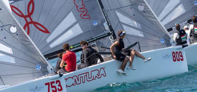 Melges 24 European Sailing Series, prima giornata a stelle e strisce