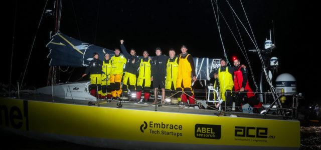 Volvo Ocean Race, Team Brunel sbanca Cardiff