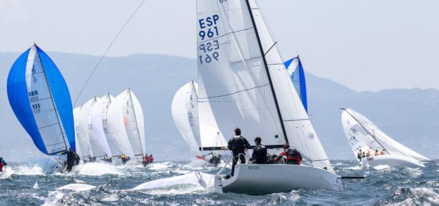 Europeo J/70, un'altra grande giornata per gli Italiani a Vigo