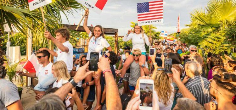 Campionati Mondiali Kite, i primi risultati da Gizzeria
