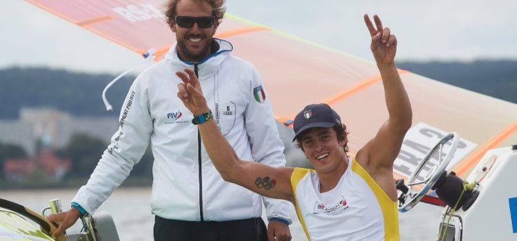 Campionato Europeo RS:X, Mattia Camboni è campione d'Europa
