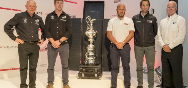 America's Cup, dates and race course announced