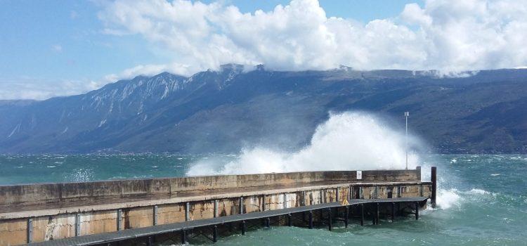 Cetilar M32 Sailing Series, storm on Garda Lake
