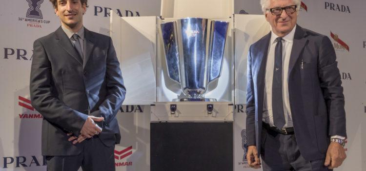 America's Cup, Patrizio Bertelli unveils the Prada Cup