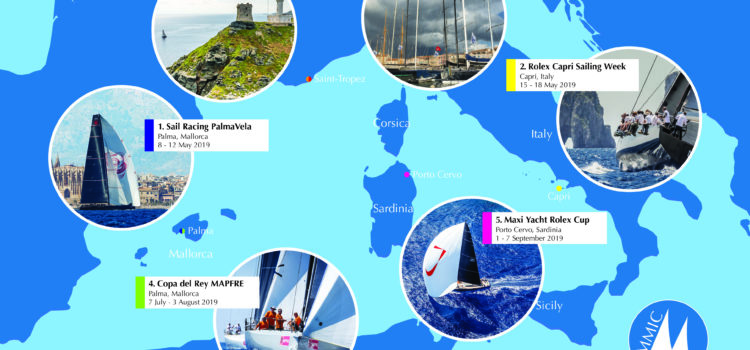 Sailing and Maxi, IMA introduces the new Mediterranean inshore series