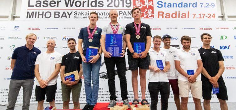 Campionato del Mondo Laser Standard, Tom Burton fa grande l'Australia