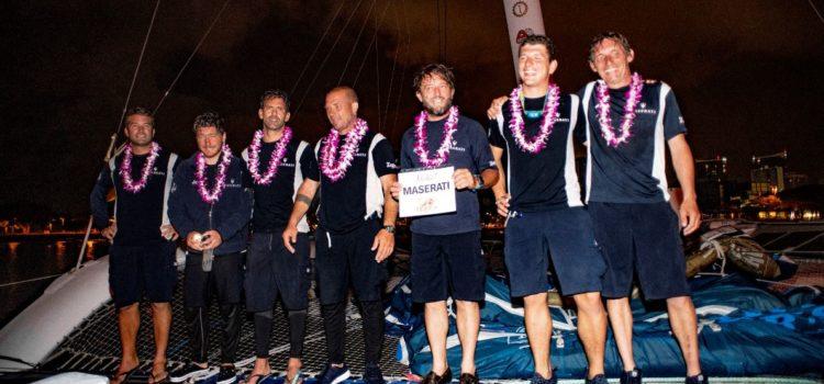 Transpacific Yacht Race, il bilancio della partecipazione di Maserati Multi 70