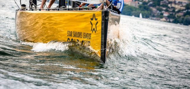 Star Sailor League Gold Cup, Estonian team is training on the lake Neuchatel