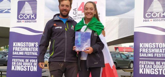 Campionato Mondiale Laser 4.7, Alina Iuorio si laurea campionessa del mondo