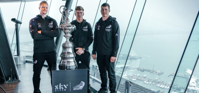 36th America's Cup, Emirates Team New Zealand and SkyCity annouce their partnership