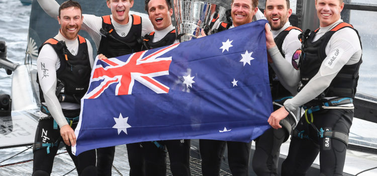 Sail GP Championship, Australia Team claims the overall success