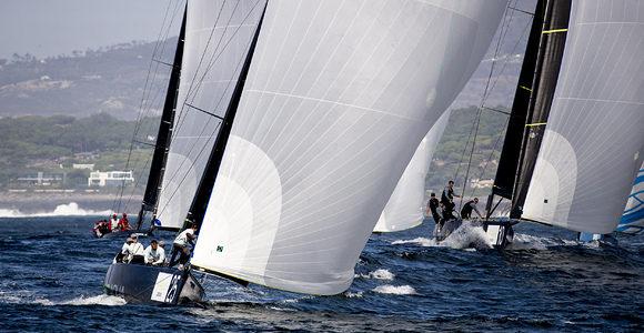 44Cup Cascais, Team Aqua shows a perfect shape