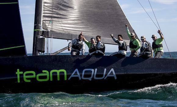 RC44 Championship Tour, Team Aqua wins in Cascais