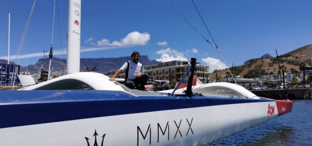 Dai team, Maserati Multi 70 conquista il Record della Manica