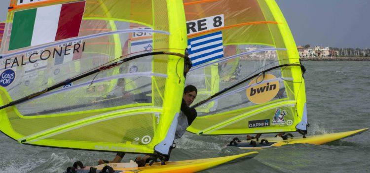 Mondiale RS:X, dopo 6 prove Mattia Camboni è secondo