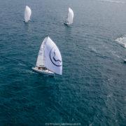 J/70 Cup 2021, Una regata completata nel Day 1 a Nettuno, Aniene Young è leader della classifica