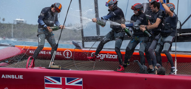 SailGP, Ben Ainslie's Great Britain wins the opening