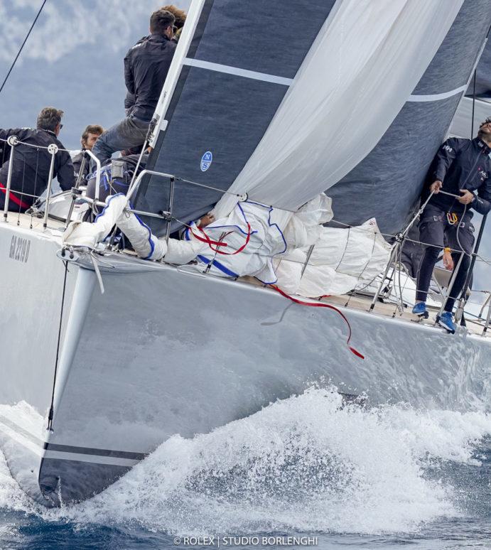Maxi Yacht Capri Trophy, Fra Diavolo wins in Capri