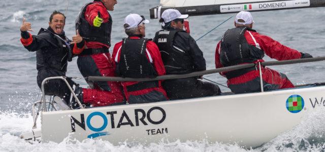 J/70 Cup 2021, Notaro Team domina il Day 2, Jeniale Eurosystem controlla il ranking generale