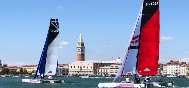Marina Militare Nastro Rosa Tour 2021, presentata a Venezia la nuova assistente digitale Randa