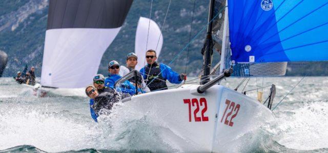 Melges 24 European Sailing Series, Altea wins in Malcesine