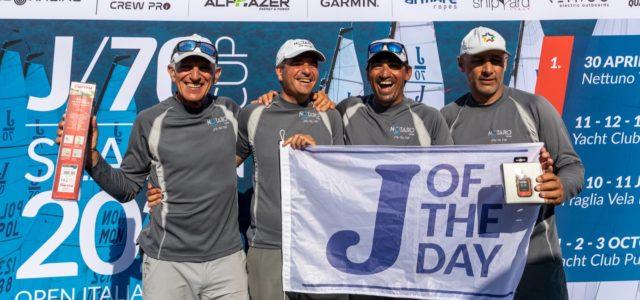 J/70 Cup, Notaro Team domina il day 2 e assume il controllo del ranking
