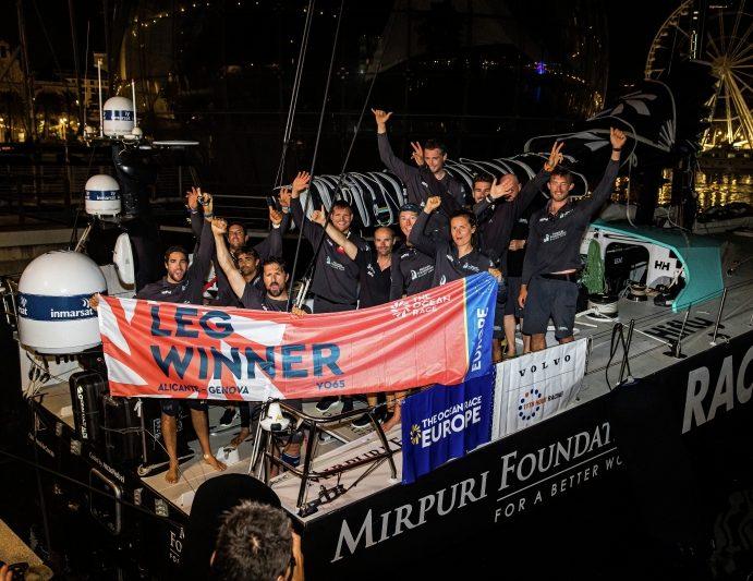 The Ocean Race Europe, Mirpuri Foundation Racing Team e Offshore Team Germany vincono a Genova