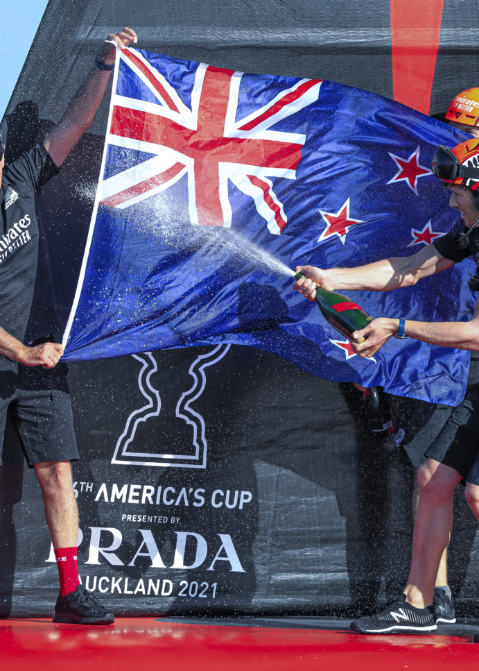 America's Cup, Stephen Tindall retires from Emirates Team New Zealand
