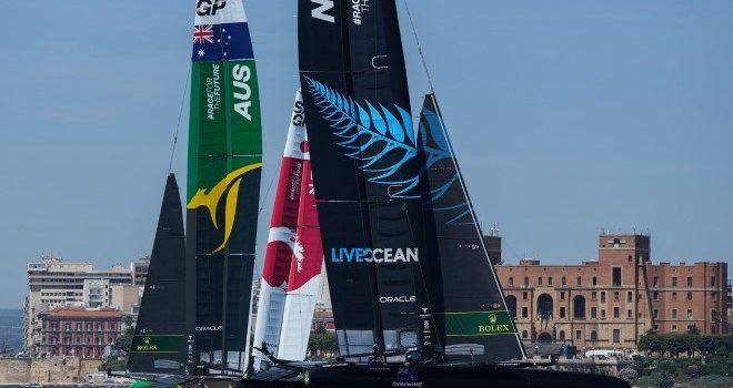SailGP, everything is set in Taranto