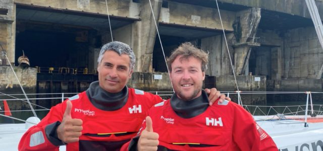 Rolex Fastnet Race, Giancarlo Pedote al via con Martin Le Pape