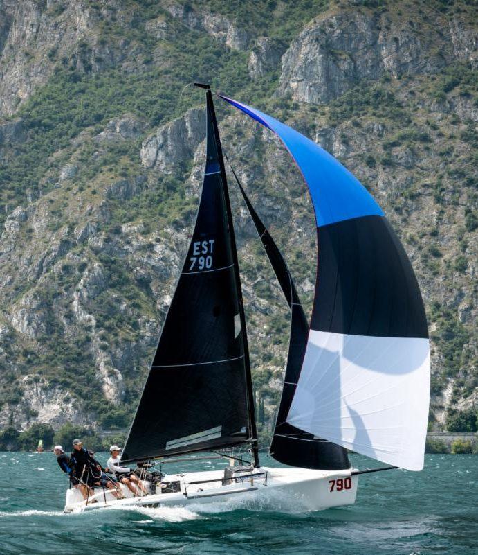 Melges 24 European Sailing Series, Estonian Lenny wins in Riva