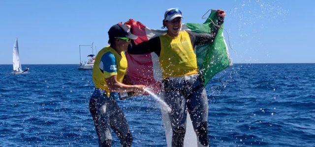 470 Junior Mixed World Championship, Gradoni-Dubbini sono campioni iridati