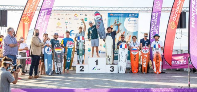 Formula Kite European Championships, the results of the Montpellier' edition