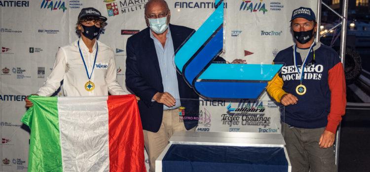 Marina Militare Nastro Rosa Tour, Bona-Zorzi sono campioni europei Double Mixed Offshore