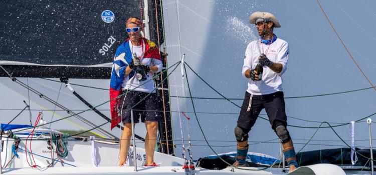 Marina Militare Nastro Rosa Tour, Pendibene-Valsecchi dominano la seconda tappa