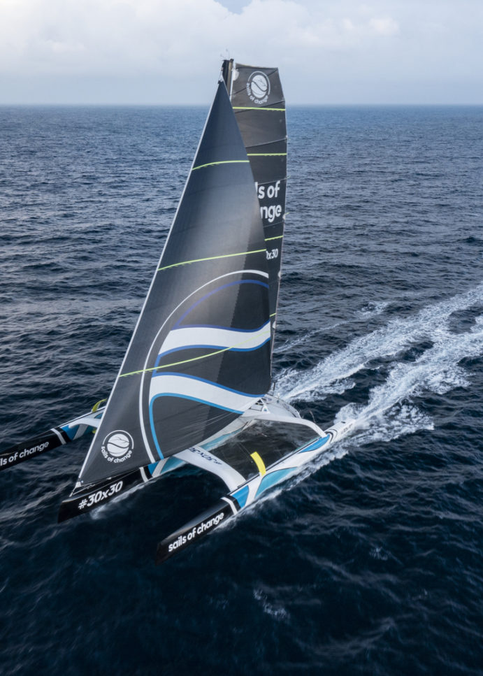 Trofeo Jules Verne, Sails of Change è in standby