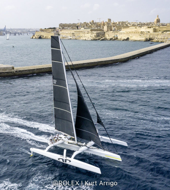 Rolex Middle Sea Race, multihull Argo smashes all records